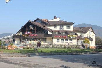 Hotel Eroplán - hlavní foto